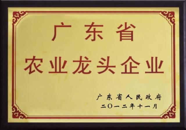 <span>廣東省農業龍頭企業</span>